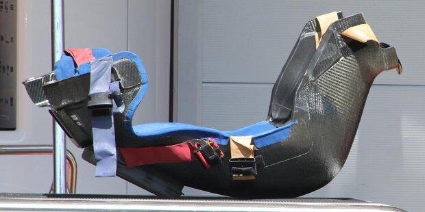 McLaren MCL35M: Frontflügel