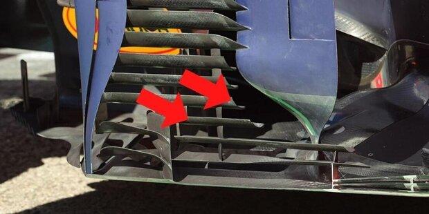 Drittes Rennen, erstes großes Update: Red Bull hat den RB16B von Max Verstappen und Sergio Perez für Portimao umfangreich modifiziert und gleich mehrere Bereiche des Fahrzeugs umgebaut. In dieser Fotostrecke zeigen wir die diversen Neuerungen!