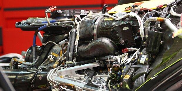 Ferrari SF21: Antriebsinstallation