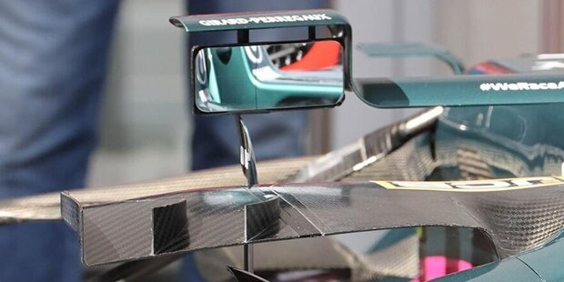 Ferrari SF21: Winglets