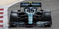 Erste Fahrbilder: Sebastian Vettel im Aston Martin AMR21