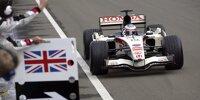 Die schlichteste aller Farben: Formel-1-Autos in Weiß