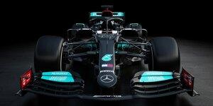 Formel 1 2021: Der neue Mercedes W12 in Bildern