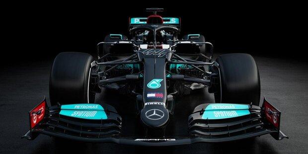 Der Neuwagen der Titelverteidiger ist da! Hier sind die ersten Bilder des Mercedes W12 für die Formel-1-Saison 2021!