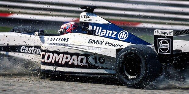 Bullen-Crash (Japan 2007): Beim verregneten Rennen in Fuji winkt Red Bull das damals beste Formel-1-Ergebnis. Mark Webber und Sebastian Vettel (damals noch für Juniorteam Toro Rosso unterwegs) liegen auf P2 und P3, als Vettel hinter dem Safety-Car bei schwierigen Sichtbedingungen in Webber kracht. Beide sind raus.
