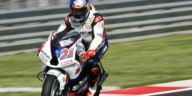 Joan Mir ist Suzukis bislang einziger Weltmeister in der MotoGP-Ära. Zuvor errangen Barry Sheene, Marco Lucchinelli, Franco Uncini, Kevin Schwantz und Kenny Roberts jun. WM-Titel für Suzuki in der Königsklasse. Wer in der MotoGP-Ära seit 2002 für die Blauen gefahren ist, zeigt unsere Fotostrecke: