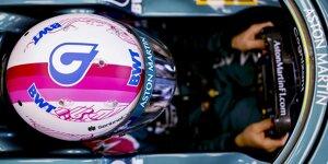 Das neue Formel-1-Helmdesign von Sebastian Vettel bei Aston Martin