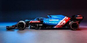 Formel-1-Autos 2021: Präsentation Alpine A521