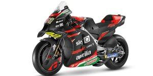 MotoGP 2021: Aprilia zeigt die neue RS-GP