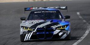 BMW M4 GT3: Erste Bilder von den Tests