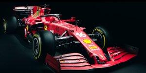 Formel 1 2021: Präsentation Ferrari SF21