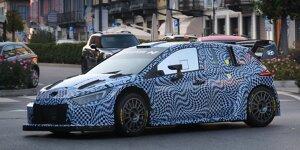 Rally1-Test von Hyundai in Italien 2021