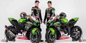 WSBK 2021: Kawasaki zeigt Jonathan Reas neue Ninja