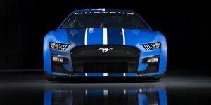 Die NASCAR-Autos für 2022 von Chevrolet, Ford, Toyota