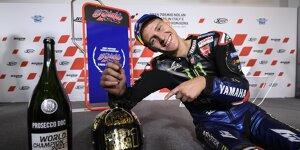 Die besten Jubelbilder von MotoGP-Champion Fabio Quartararo