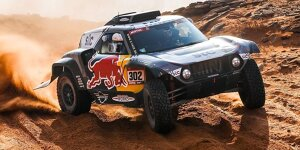 Rallye Dakar 2021, Etappen 7-12