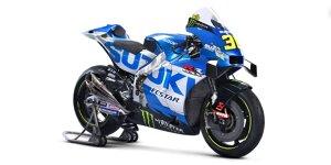 MotoGP 2021: Die neue GSX-RR von Joan Mir und Alex Rins