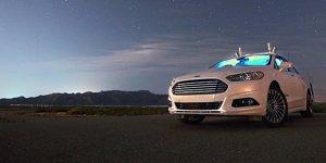 Autonomer Ford Fusion tappt erfolgreich im Dunkeln