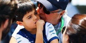 Felipe Massa: Wie sein Sohn Daniel Ricciardo im Minikart bog