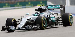Formel 1 Russland 2016: Rosberg 0,7 Sekunden vor Hamilton