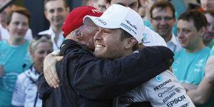 """Lauda schw�rmt von Rosberg: """"Bringt nicht jeder zusammen"""""""
