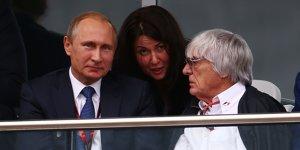 Ecclestone vergleicht Wladimir Putin mit Winston Churchill