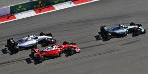 Mercedes in Sotschi b�renstark: Silber nun noch dominanter?