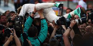 Schulnoten: Rosberg gewinnt nicht nur auf der Strecke