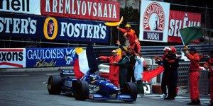 "Monaco-Grand-Prix 1996: Panis erlebt sein ""blaues Wunder"""