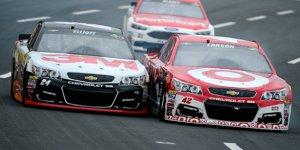 Wahnsinnskampf im Sprint Showdown: Larson schl�gt Elliott