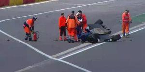 Eau-Rouge-�berschlag: Das sagt Unfallopfer Nikita Slobin!
