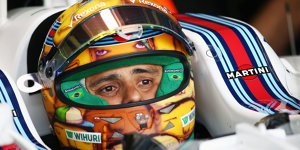 Felipe Massa mit Graffiti-Helmdesign in Monaco
