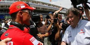 Michael Schumacher 1998 um ein Haar im McLaren-Mercedes