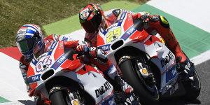 Ducati: Platzt der Knoten in Barcelona?