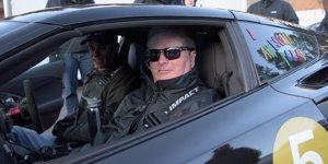 Pikes Peak: Querschnittsgel�hmter Pilot lenkt mit seinem Kopf