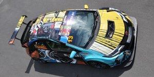Tiago Monteiro f�hrt Honda-Art-Car in Zandvoort