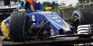 Sauber: Ericsson sorgt im Qualifying f�r Kleinholz