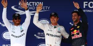 Nico Rosberg: Red Bull ist eine Gefahr - vor allem im Regen