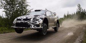 Volkswagen testet aktuelles und neues WRC-Auto in Finnland
