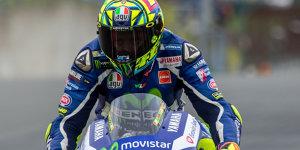 Valentino Rossi w�nscht sich Boxenfunk in der MotoGP