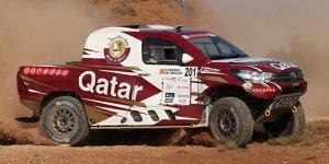 Baja Aragon: Al-Attiyah gewinnt vor Sainz