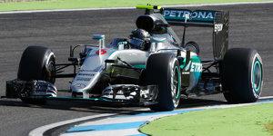Formel 1 Hockenheim 2016: Freitagsbestzeit f�r Nico Rosberg