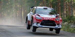WRC Rallye Finnland: Meeke f�hrt - Drama f�r Sebastien Ogier