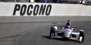 IndyCar Pocono: Will Power mit Sieg zur�ck im Meisterrennen
