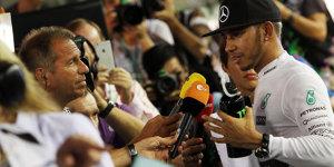 Wie Lewis Hamilton die Paparazzi arbeitslos gemacht hat