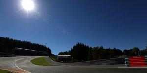Formel-1-Wetter Spa: Hei�er Auftakt - nasses Ende?
