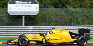 """""""Formel 1 mit Anlasser"""": Palmer gelingt Motorneustart"""