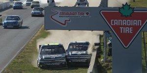 Irres Finish inklusive Schlägerei bei den NASCAR Trucks!