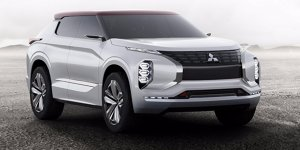 Paris 2016: Mitsubishi GT-PHEV Concept mit drei E-Motoren