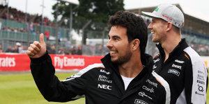 Sergio Perez: Hatte noch nie ein Problem mit Nico H�lkenberg
